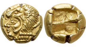 CILICIA. Anazarbus. Otacilia Severa (Augusta, 244-249). Ae Hexassarion. Dated CY 263 (244/5). Obv: ΩTAKЄIΛIA CЄOVHPA CЄB. Draped bust right, wearing stephane and set upon crescent. Rev: ANAZAPBOV MHTPOΠO / ЄT - ΓΞC. Eirene seated left on throne, holding sceptre and branch; helmet, cuirass, shield, greaves and spear in exergue. Ziegler, Anazarbos, 733.4 [dies Vs2/Rs5] (this coin cited and illustrated); Ziegler 1130; SNG BN 2114; SNG Levante 1493. Ex Dr. P. Vogl Collection; ex Bankhaus Aufhäuser (sold 9 January 1991; with dealer's ticket). Condition: Very fine, struck on a broad flan. Weight: 21.83 g. Diameter: 33 mm.