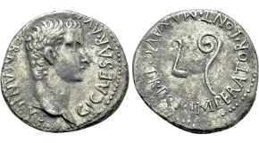 PESCENNIUS NIGER (193-194). Denarius. Antioch. Obv: IMP CAES C PESCE NIGER. Laureate head right. Rev: SAECVLI FELICIIAS (sic). Seven stars within crescent. RIC 73a var. (rev. legend). Condition: Good very fine. Weight: 3.47 g. Diameter: 18 mm.