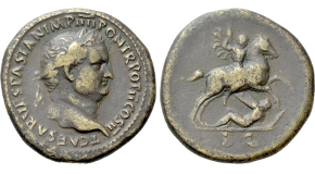 JULIUS CAESAR. Denarius (44 BC). Rome; M. Mettius, moneyer. Possible lifetime issue. Obv: IMPER CAESAR. Laureate head right. Rev: M METTIVS. Venus standing left, with head lowered, holding victoriola and sceptre, and resting elbow upon round shield set upon globus; A to left. Crawford 480/17; CRI 101. Ex Naville Numismatics 16 (12 July 2015), lot 445. Highly expressive and impressive portrait. Condition: Near extremely fine, attractively toned, somewhat off-center. Weight: 4.0 g. Diameter: 19 mm.