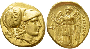 ATTICA. Athens. Tetradrachm (Circa 465-460 BC). Transitional issue. Obv: Helmeted head of Athena right, with frontal eye.