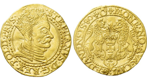 AUSTRIA. Franz I with Ferdinand V (1804-1835). GOLD Medallic Ducat (1830). Commemorating the Coronation of Ferdiand as King of Hungary and Croatia. Obv: FRANC I ET PER EVM FERD V. Jugate heads of Franz, laureate, and Ferdinand right. Rev: CORON POSON / DIE XXVIII SEPT / MDCCCXXX. Rayed crown. Cf. Montenuovo 2517 (silver); Heritage 3004, lot 20203. Rare. Condition: Extremely fine. Weight: 6.1 g. Diameter: 23 mm.