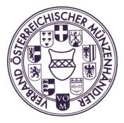 Registriertes Mitglied im Verband österreichischer Münzenhändler